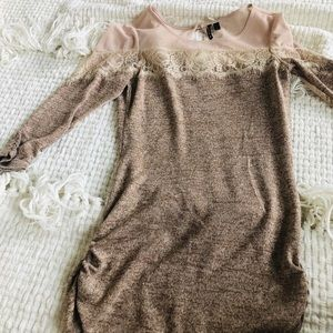 HeartSoul lace sweater top